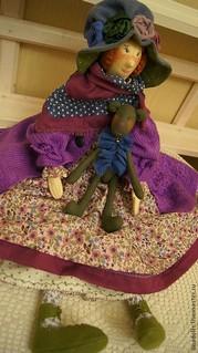 Кларисса, подарочные куклы ручной работы