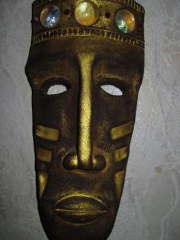 Авторские изделия из дерева - купить панно Декоративная маска