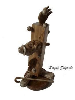 Маэстро, интерьерные куклы из дерева