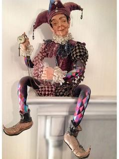 Old Joker, коллекционные куклы ручной работы
