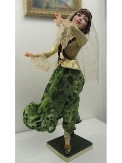 Tantsuyuschaya, коллекционные куклы ручной работы