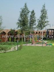 детский игровой комплекс на садовом участке