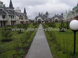 городское озеленение – первичное озеленение коттеджного поселка
