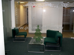 праздничное оформление помещений - новогоднее оформление офиса