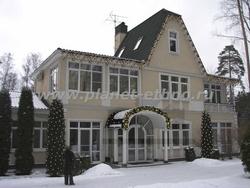 световое оформление фасадов – новогоднее оформление жилого дома